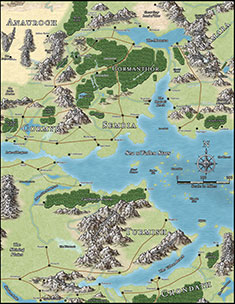 The forgotten realms atlas project book one dungeon masters guild this is the first of a collection of very high resolution overland maps for the forgotten realms campaign setting this product includes gumiabroncs Image collections